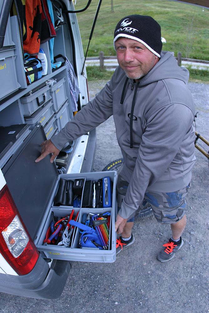 Mala - velika mobilna delavnica, ali Sport Billyeva čudežna torbica. Vse in še več. Nikoli ne veš kaj potrebuješ.