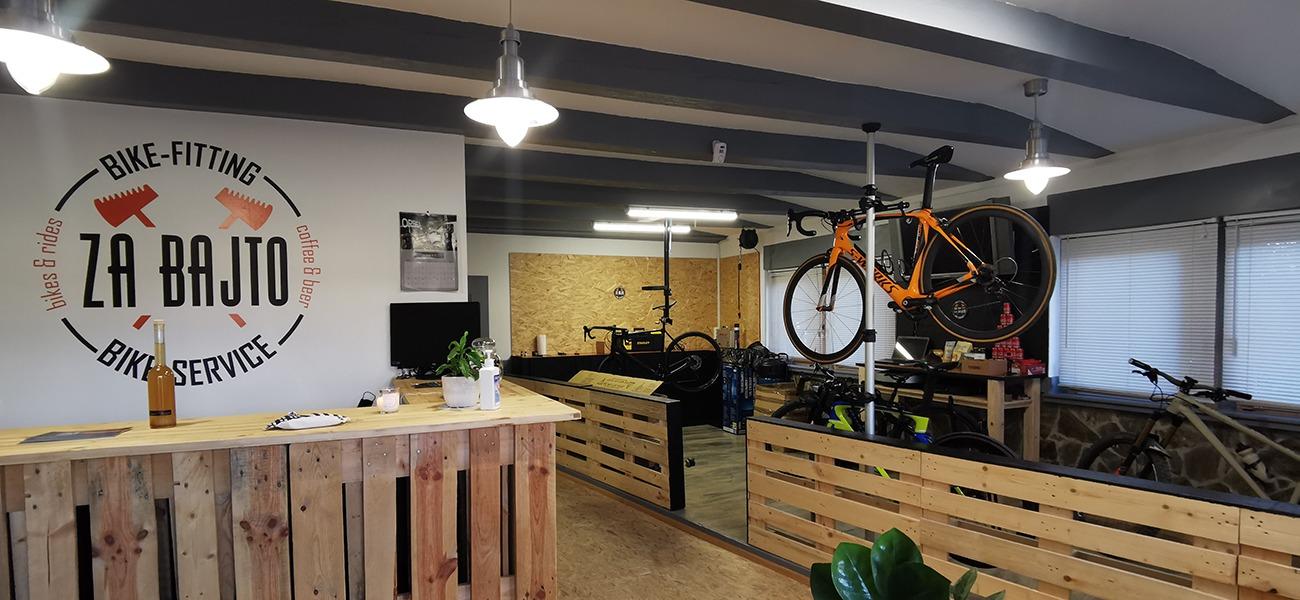 NiKo ima servis in bike fitting za bajto